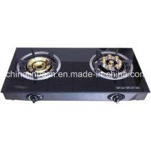 2 Burners Tempered Glass Top 8-Eye Energy Saving Cooktop/Gas Stove/Gas Cooker