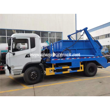 5cbm swing arm loader garbage truck