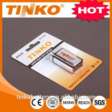 Super Heavy Duty Battery 6F22 9V with high quality
