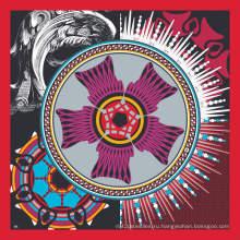Шелковый шарф 20121