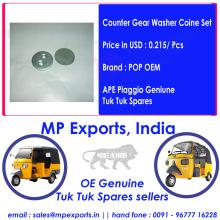 Ape Piaggio Tuk tuk Spare parts Counter Gear Washer Coin Set