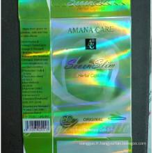 Amana Care sept herbes Slim & vert minceur Diet Pill