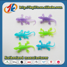 China Wholesaler Colorful TPR Animal Lizard Toy