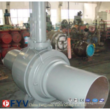 API 6D Wcb Fully Welded Ball Valve