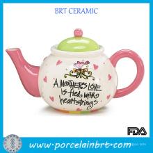 Tetera de cerámica de regalo para agradecer a la madre