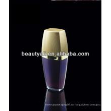 15 мл 30мл 50мл 80мл 120мл Роскошная пластмассовая акриловая косметическая бутылка