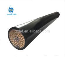 450 / 750V -KVVP2 2.5mm2 pvc aislamiento Cable de control de pantalla Cable