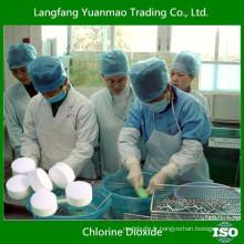 Désinfectant au dioxyde de chlore pour la désinfection des eaux usées dans les hôpitaux
