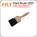 wooden handel Black bristle paint brush
