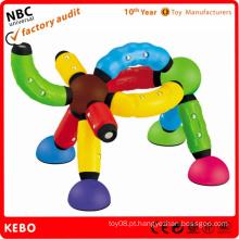 Plástico, predios, tijolo, brinquedo