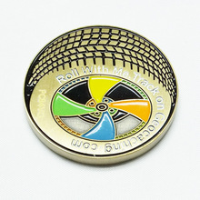 Logo Branded Coin For Anniversary