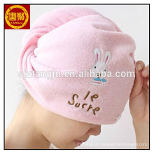 Высокое качество микрофибра сушки волос полотенцем тюрбан полотенца обернуть,бамбук ванна towelhair сушки тюрбан полотенце из бамбука,высокое качество, микро