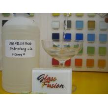 mosaïque de verre Vernis à l'huile
