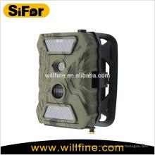 cámara solar de seguridad inalámbrico al aire libre 12MP 720P con pilas acceso remoto de teléfono móvil de apoyo