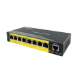 Snabb omanagd 8-port POE Network Switch