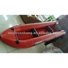 canoa de barco inflável do 4m 0.9 pvc cor opcional KP400-H