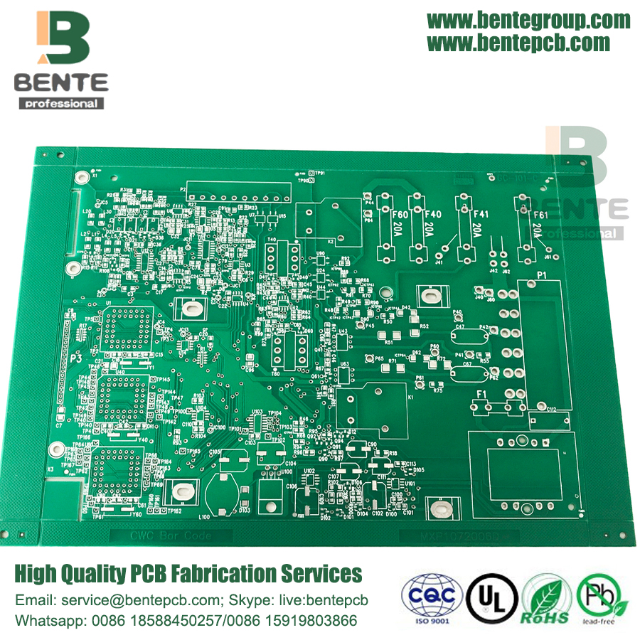 Immersion Tin 2 Lagen Quickturn PCB FR4 Tg135 PCB
