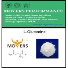 L-Glutamine de source d'usine d'acide aminé d'approvisionnement d'usine (fermenté)