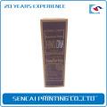 Chine fabricant pas cher personnalisé Homme cosmétiques papier emballage boîte de couleur