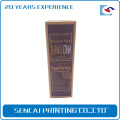 China manufacturer cheap custom Man cosmetic paper packaging color box