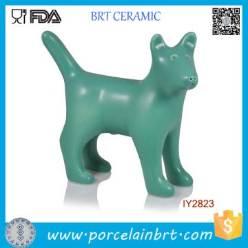 Salière et poivrière en céramique Creative Green Dog