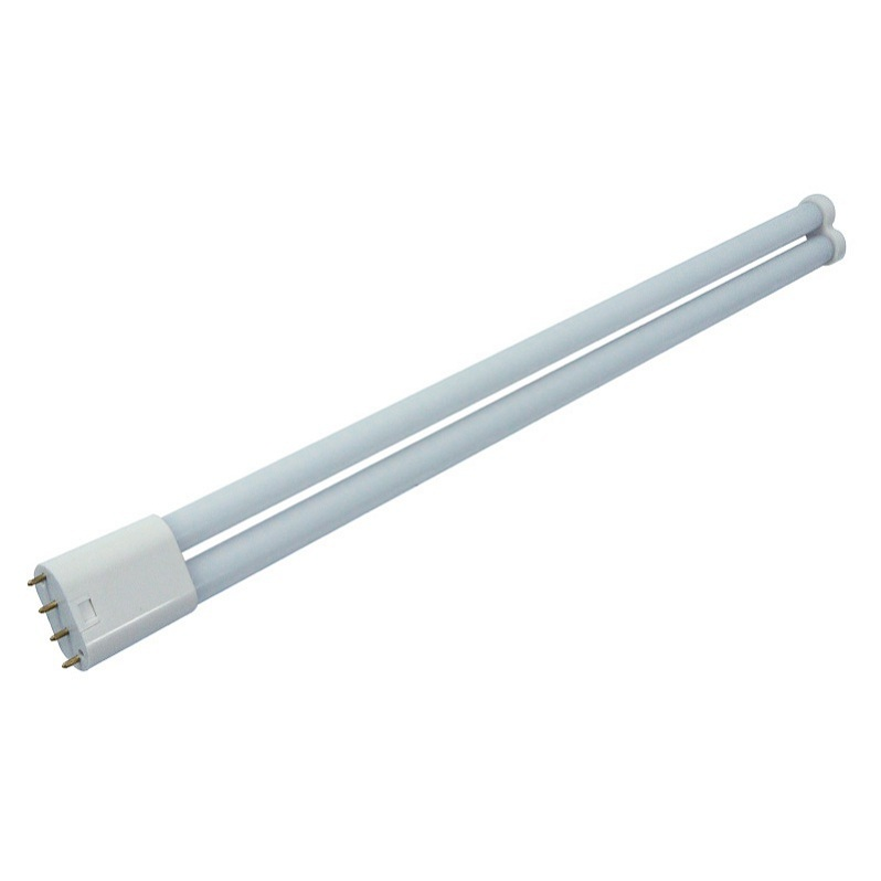 105LM / W CRI> 80 15W 320MM 2G11 LED Tubo