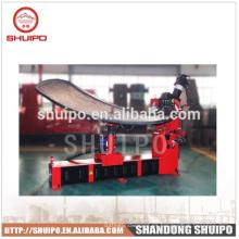 Sin plantilla Máquina de plegado de cabezal inclinado irregular (Máquina formadora de extremo de tanque)
