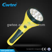 GT-8155 Lampe torche laser à LED 15 LED