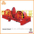 Supply Drilling Rig Crown Block TC-135 en stock