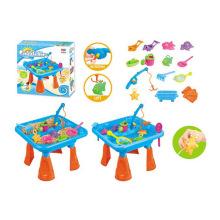Verão, brinquedo, areia, praia jogar jogo de pesca (h1336131)