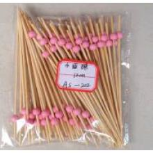 Knotted Safe Bamboo BBQ Fancy Party Mini Skewers