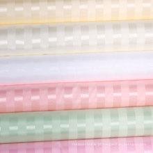 100% poliéster Stripe impermeável cortina de chuveiro Atacado (DPF061130)
