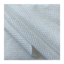 Unique Design Hot Sale Customized Viscose And Polyester Pearl Pattern Cross Spunlace Nonwoven Fabric