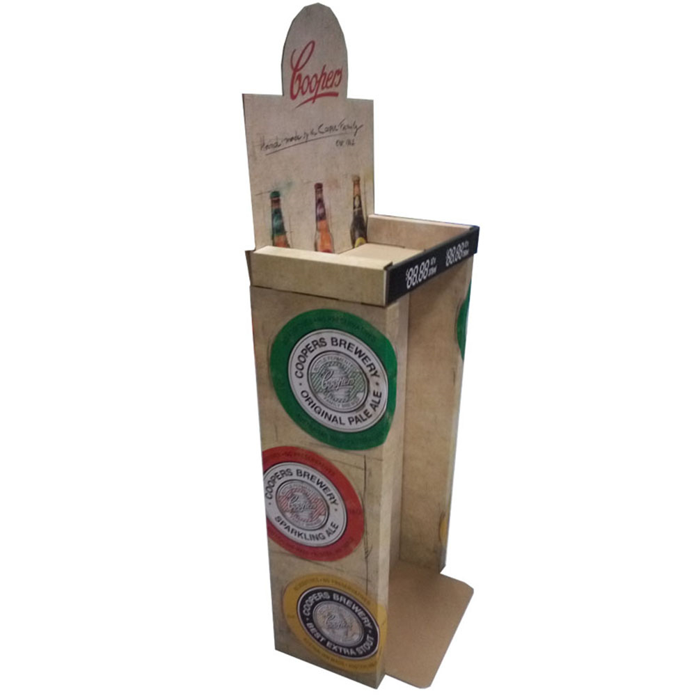 Large Size Corrugated Beverages Packaging Display Box