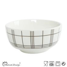 Homestyle Luxury Decal Ceramic Otameal Bowl