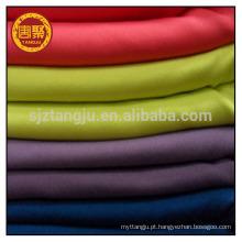 100% algodão tecido de malha dupla / tecido jersey único