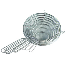 9pcs stainless steel flour sifter mesh Strainers set