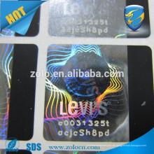 Späteste benutzerdefinierte Kratzer aus heißen Stanzfolie / Hologramm Aufkleber mit Kratzer aus
