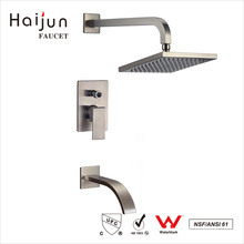 Haijun Buy Direct China Bathroom Saving Water Brass Thermostatic Mixer Faucet