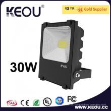 CREE LED 30W Floodlight 5 años de garantía con RoHS Saso