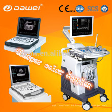 Dispositivo de ultrasonido Doppler del color 3d / 4d de los dispositivos de diagnóstico ultrasónicos del CE