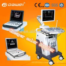 Dispositifs diagnostiques ultrasoniques portatifs de la CE dispositif d'ultrason de doppler de la couleur 3d / 4d