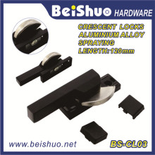Chinese Factory Window Lock Handle Crescent Lock with Zinc Alloy