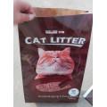 Emballage d'impression en papier de haute qualité Sac Kraft pour litière pour chat