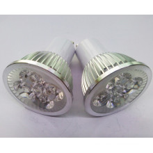 Alta potencia GU10 4X1w LED bombilla lámpara de proyección