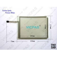 PWS3160-FTN Touch Screen Glass untuk Hitech