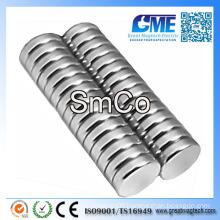 """D1/4""""X1/16"""" Disc SmCo Samarium Cobalt Magnet"""