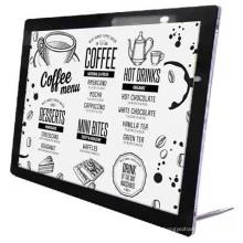 Super Slim LED Menu Board Table Stand Menu Display Advertising Light Box