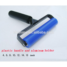 Different size,color dust roller,Silicon sticky roller,rubber roller