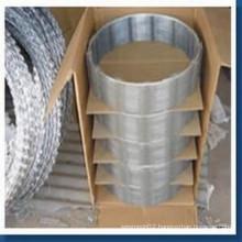 Hot Dipped Galvanized Razor Wire Bto-22